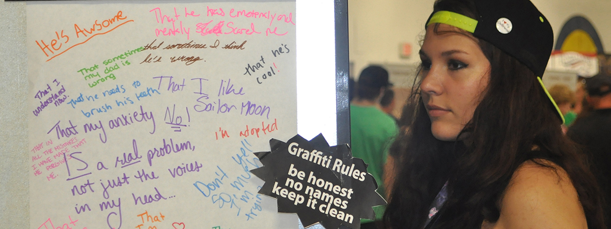 the words they long to hear: messages from the wall